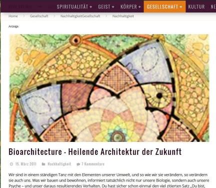 Heilende Architektur
