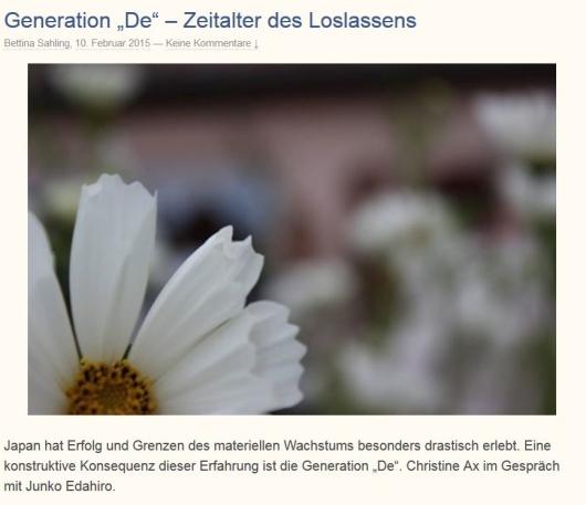 Generation De
