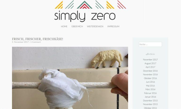 Simply Zero